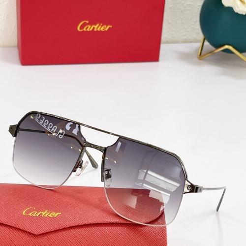 Cartier AAA Quality Sunglasses #883483