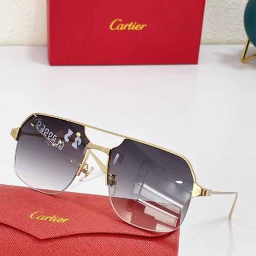 Cartier AAA Quality Sunglasses #883484