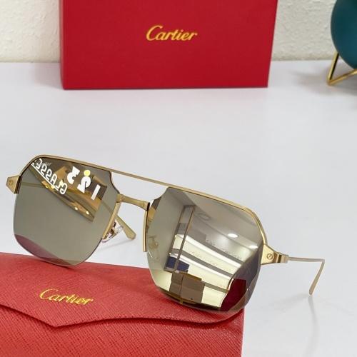 Cartier AAA Quality Sunglasses #883485
