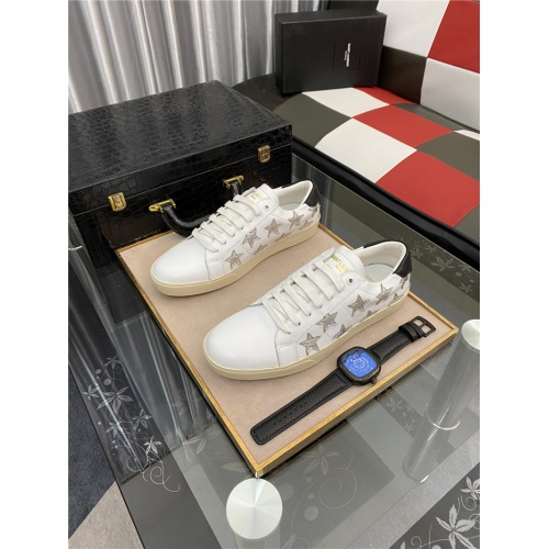 Yves Saint Laurent Casual Shoes For Men #883655