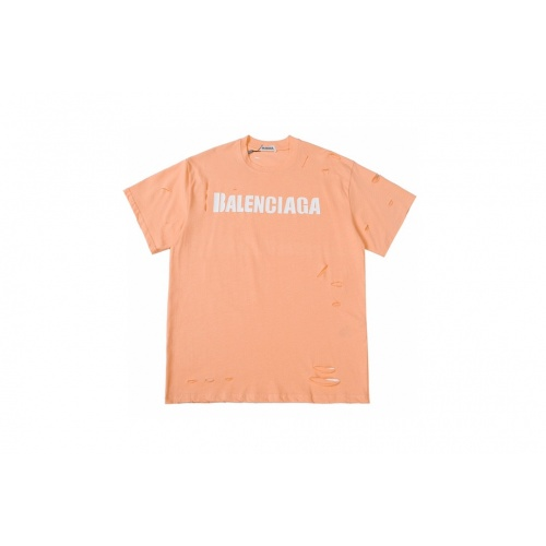 Balenciaga T-Shirts Short Sleeved For Men #884072