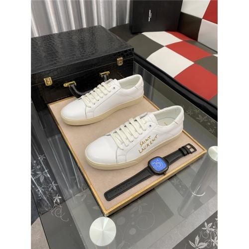 Yves Saint Laurent Casual Shoes For Men #884367