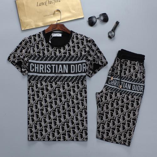 Christian Dior Tracksuits Short Sleeved For Men #884454