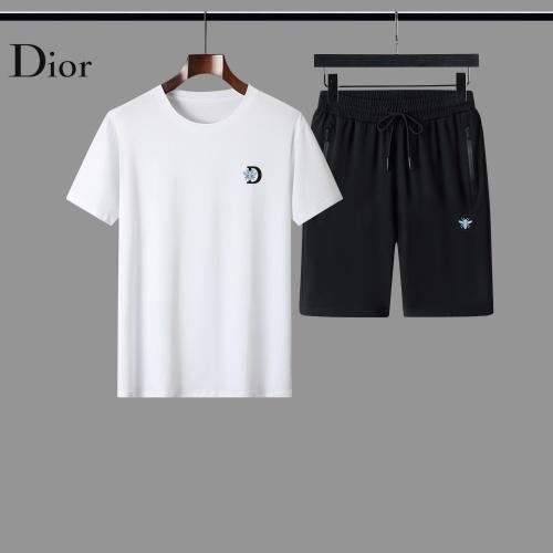 Christian Dior Tracksuits Short Sleeved For Men #884496