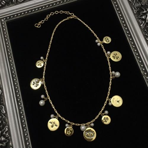 Christian Dior Necklace #885234 $48.00 USD, Wholesale Replica Christian Dior Necklace