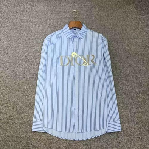 Christian Dior Shirts Long Sleeved For Men #885254