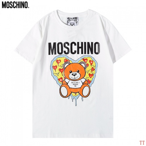 Moschino T-Shirts Short Sleeved For Men #885353