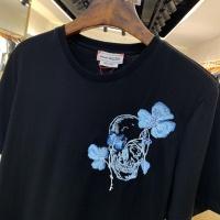 $40.00 USD Alexander McQueen T-shirts Short Sleeved For Men #879609