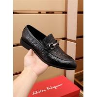 $82.00 USD Ferragamo Salvatore FS Leather Shoes For Men #879644