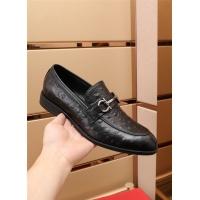 $82.00 USD Ferragamo Salvatore FS Leather Shoes For Men #879657