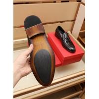 $82.00 USD Ferragamo Salvatore FS Leather Shoes For Men #879659