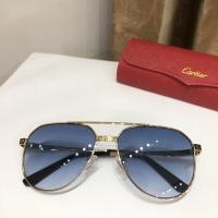 $52.00 USD Cartier AAA Quality Sunglasses #882213