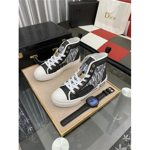 Christian Dior High Tops Shoes For Men #885425