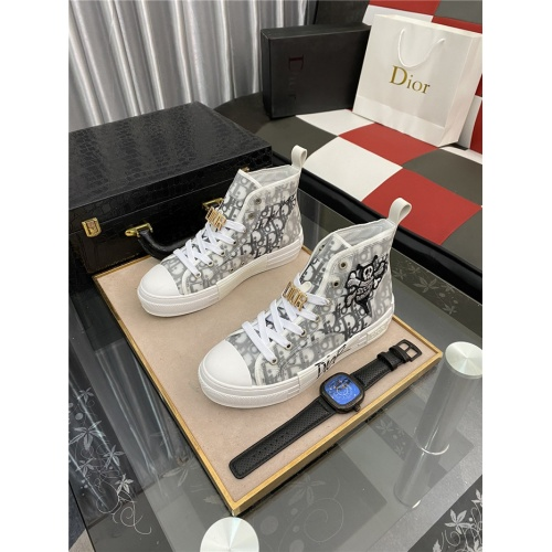 Christian Dior High Tops Shoes For Men #885426