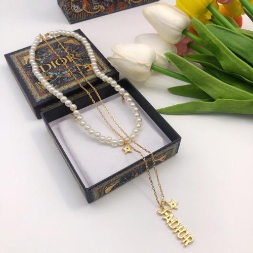 Christian Dior Necklace #885560 $34.00 USD, Wholesale Replica Christian Dior Necklace
