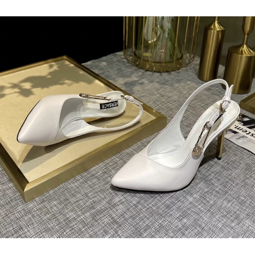 Versace High-Heeled Shoes For Women #885915
