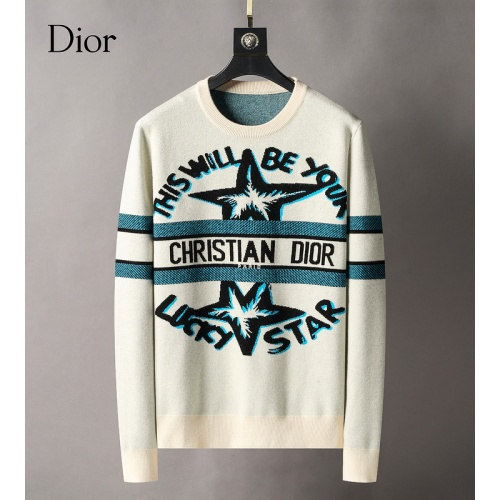 Christian Dior Sweaters Long Sleeved For Men #886760