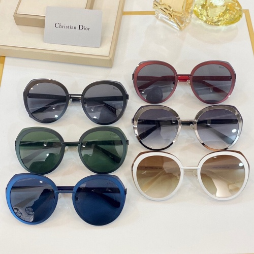 Replica Christian Dior AAA Quality Sunglasses #888132 $48.00 USD for Wholesale