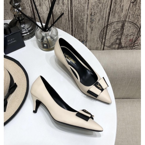 Yves Saint Laurent YSL High-Heeled Shoes For Women #888827