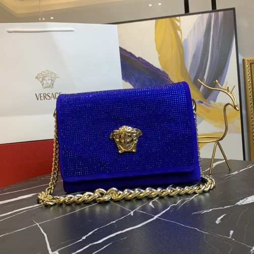 Versace AAA Quality Messenger Bags For Women #889009 $135.00 USD, Wholesale Replica Versace AAA Quality Messenger Bags