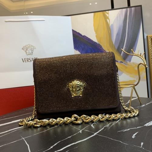Versace AAA Quality Messenger Bags For Women #889010 $135.00 USD, Wholesale Replica Versace AAA Quality Messenger Bags