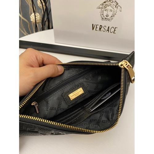 Replica Versace AAA Man Wallets #889223 $54.00 USD for Wholesale