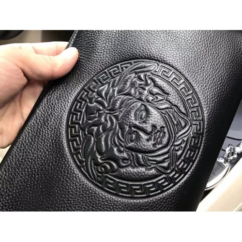 Replica Versace AAA Man Wallets #889224 $54.00 USD for Wholesale