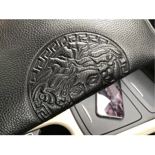 Replica Versace AAA Man Wallets #889225 $54.00 USD for Wholesale