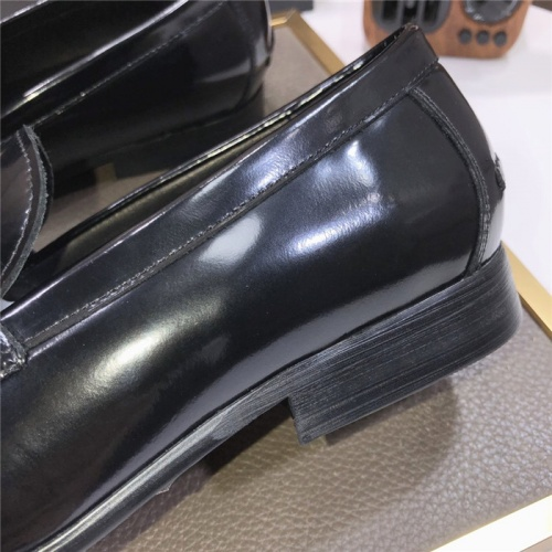 Replica Versace Leather Shoes For Men #889435 $96.00 USD for Wholesale