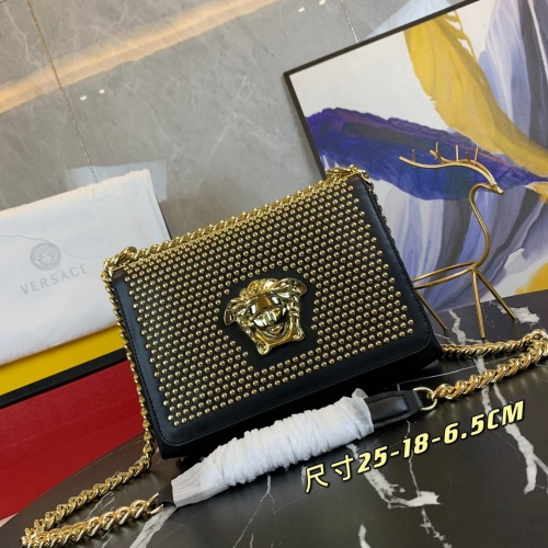 Versace AAA Quality Messenger Bags For Women #889505 $125.00 USD, Wholesale Replica Versace AAA Quality Messenger Bags