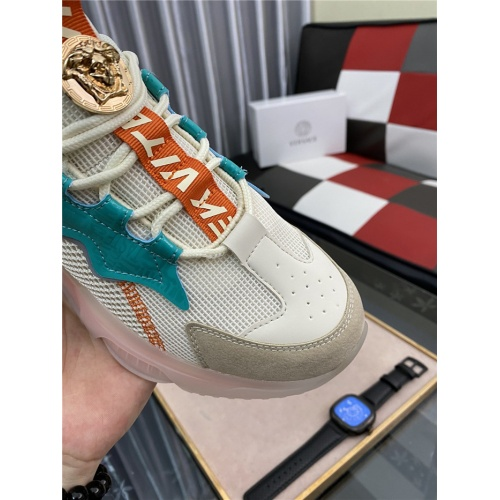 Replica Versace Casual Shoes For Men #890022 $80.00 USD for Wholesale