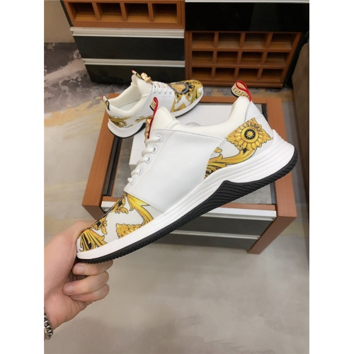 Replica Versace Casual Shoes For Men #890023 $76.00 USD for Wholesale
