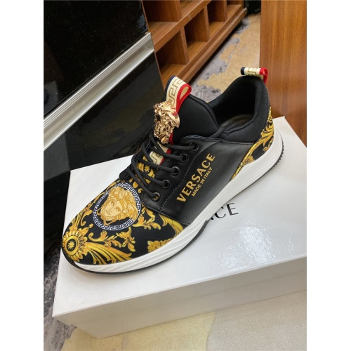 Replica Versace Casual Shoes For Men #890024 $76.00 USD for Wholesale
