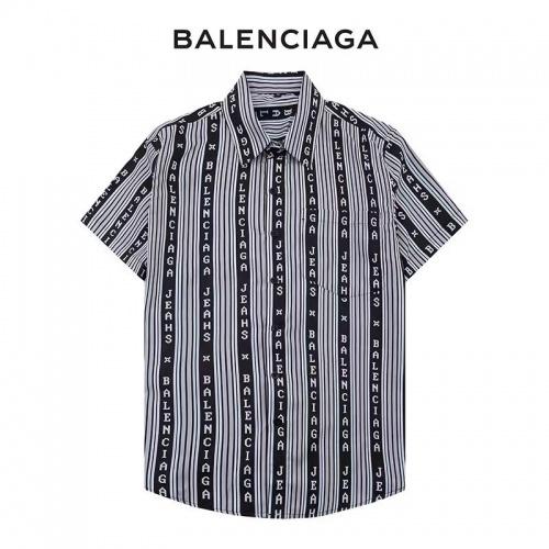 Balenciaga Shirts Short Sleeved For Men #890129
