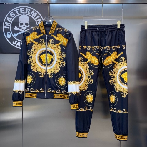 Versace Tracksuits Long Sleeved For Men #890140 $78.00 USD, Wholesale Replica Versace Tracksuits
