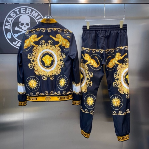 Replica Versace Tracksuits Long Sleeved For Men #890140 $78.00 USD for Wholesale