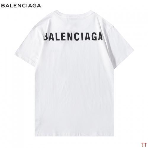 Balenciaga T-Shirts Short Sleeved For Men #890439