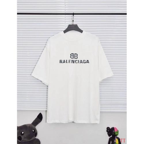 Balenciaga T-Shirts Short Sleeved For Men #890448