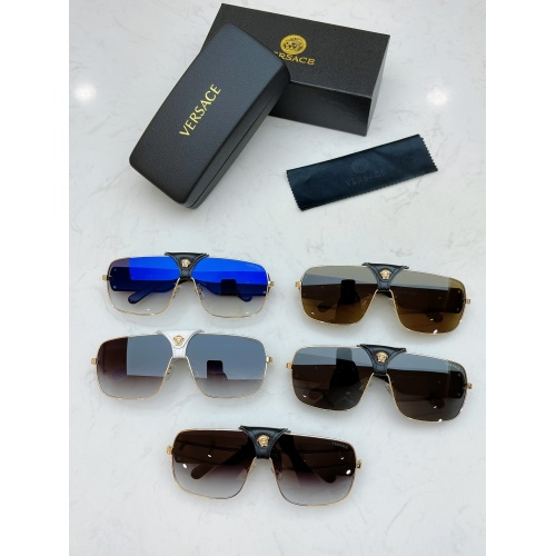 Replica Versace AAA Quality Sunglasses #890458 $48.00 USD for Wholesale
