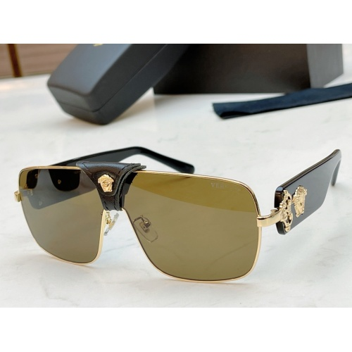 Versace AAA Quality Sunglasses #890459 $48.00 USD, Wholesale Replica Versace AAA+ Sunglasses