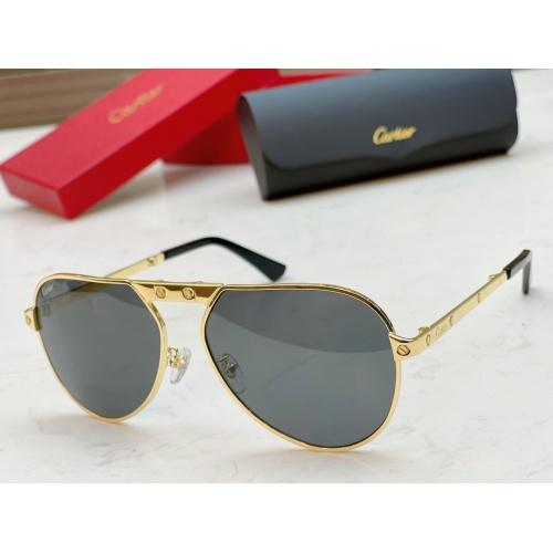 Cartier AAA Quality Sunglasses #890475