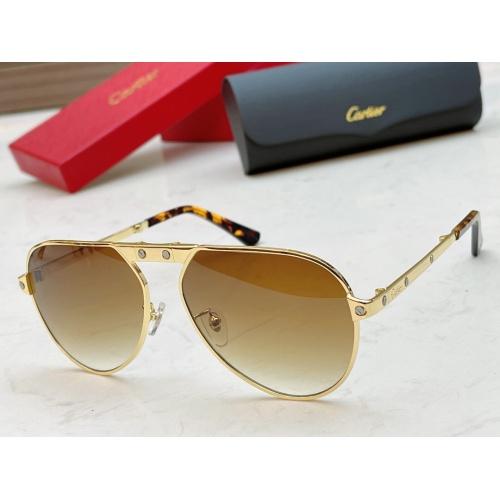 Cartier AAA Quality Sunglasses #890476