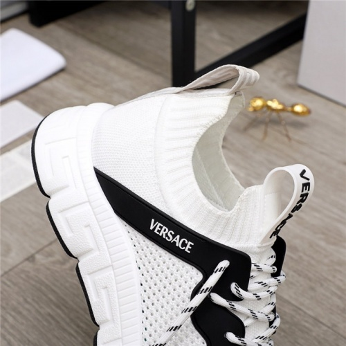 Replica Versace Casual Shoes For Men #890565 $76.00 USD for Wholesale