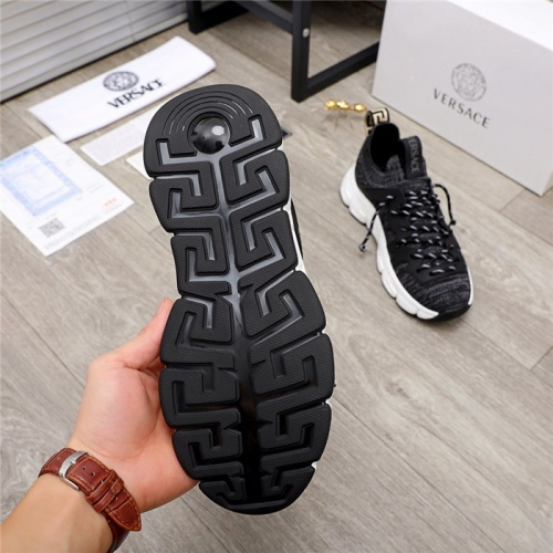 Replica Versace Casual Shoes For Men #890566 $76.00 USD for Wholesale