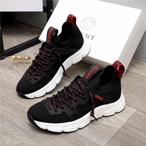 Versace Casual Shoes For Men #890567 $76.00 USD, Wholesale Replica Versace Casual Shoes