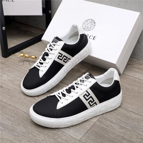Versace Casual Shoes For Men #890570 $100.00 USD, Wholesale Replica Versace Casual Shoes