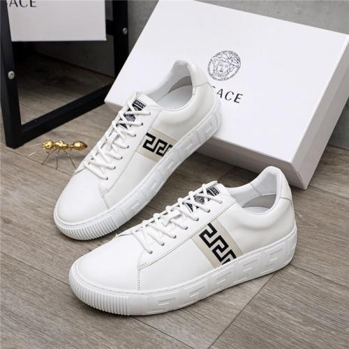 Versace Casual Shoes For Men #890572 $100.00 USD, Wholesale Replica Versace Casual Shoes