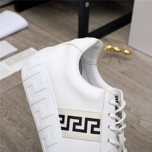 Replica Versace Casual Shoes For Men #890572 $100.00 USD for Wholesale