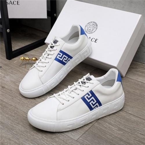 Versace Casual Shoes For Men #890573 $100.00 USD, Wholesale Replica Versace Casual Shoes