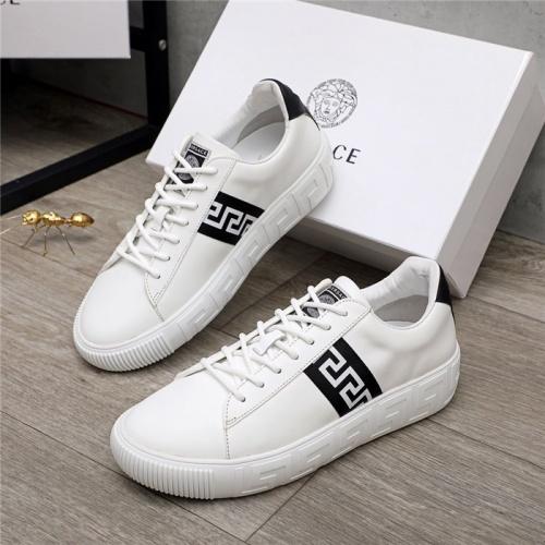 Versace Casual Shoes For Men #890574 $100.00 USD, Wholesale Replica Versace Casual Shoes